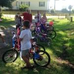 Bike parade 1