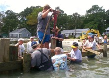 Volunteers needed for jetty repair August 24th